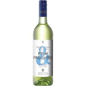 Ortenauer Weinkeller Fein & Fruchtig Rivaner feinherb 2016