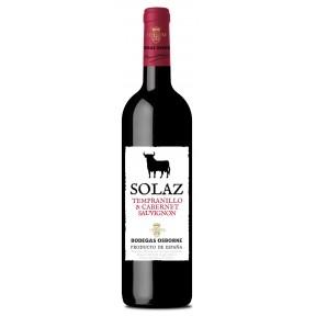 Osborne Solaz Tempranillo Cabernet Sauvignon Rotwein 2018 0,75 ltr