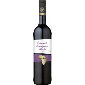 OverSeas Südafrika Cabernet Sauvignon Merlot Rotwein 2019 0,75 ltr