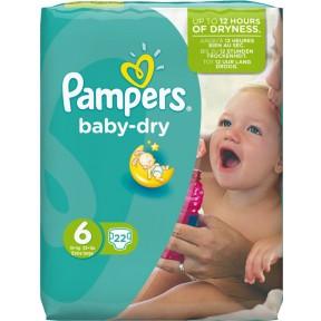Pampers Baby Dry 6 für 15+ kg