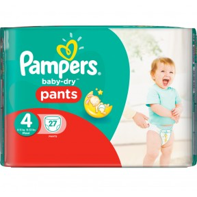 Pampers Baby Dry Pants 4 für 8-15 kg