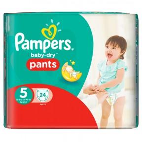 Pampers Baby Dry Pants 5 für 12-18 kg
