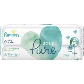 Pampers Feuchttücher Aqua Pure 2x 48 Stück