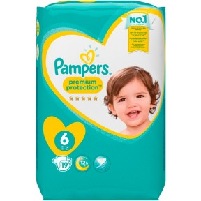 Pampers Premium Protection Gr.6 13+kg