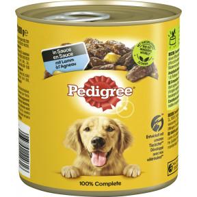 Pedigree mit Lamm in Sauce Hundefutter nass 800G