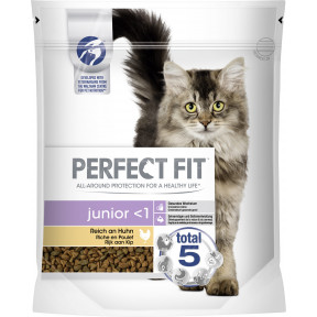 Perfect Fit junior <1 Reich an Huhn Katzenfutter trocken 0,75 kg