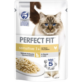 Perfect Fit Sensitive 1+ Huhn Katzenfutter nass 85G
