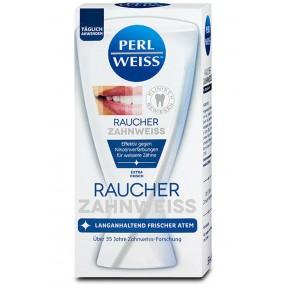 Perlweiss Raucher Zahnweiss Zahncreme 50 ml