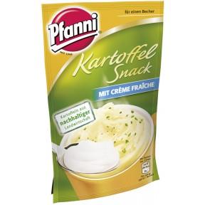 Pfanni Kartoffel Snack im Beutel mit Crème Fraîche