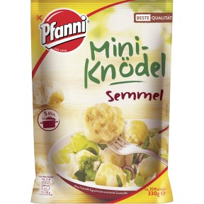 Pfanni Mini Semmelknödel-Knödel fix & fertig in 5 Minuten