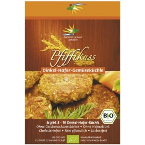 Pfiffikuss Bratlinge Dinkel-Hafer-Gemüse