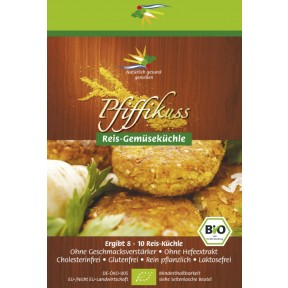 Pfiffikuss Bratlinge Reis-Gemüse