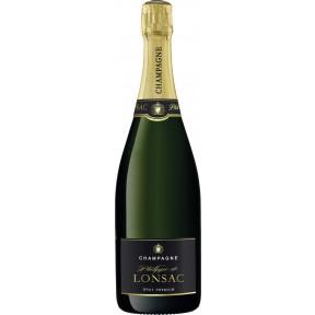 Philippe de Lonsac Champagner Brut Premium 0,75 ltr