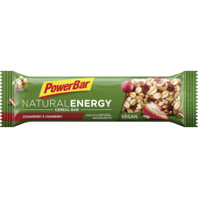 PowerBar Riegel Natural Energy Strawberry & Cranberry 40 g