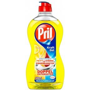 Pril Kraft-Gel Zitrone Handgeschirrspülmittel 500 ml