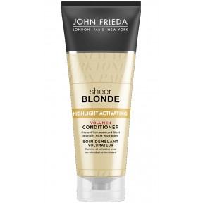 John Frieda Sheer Blonde Highlight Activating Volumen Conditioner