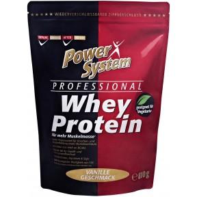 Power System Professional Whey Protein Vanille Geschmack