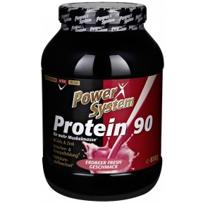 Power System Protein 90 Erdbeer Geschmack