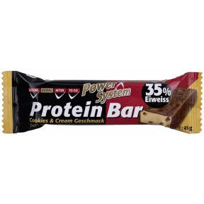 Power System Protein Bar Cookies & Cream Geschmack 35% Eiweiss