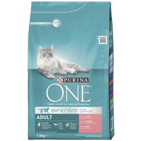 One Cat Bifensis Adult reich an Lachs & Vollkorn-Getreide Trockenfutter für Katzen