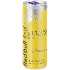 Red Bull The Yellow Edition Tropical 250 ml