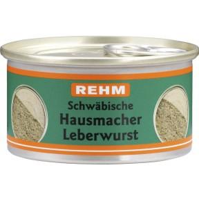 Rehm Schwäbische Hausmacher Leberwurst 125 g