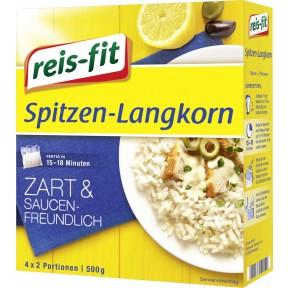 Reis-Fit Spitzen Langkorn Reis im Kochbeutel 15-18 Minuten 4x 125 g