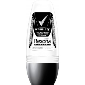 Rexona Men Deo Roll-On Invisible Black + White