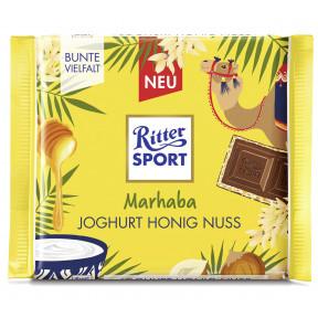 Ritter Sport Marhaba Joghurt Honig Nuss 100G
