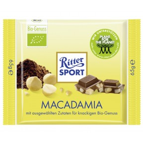 Ritter Sport Macadamia Bio-Genuss