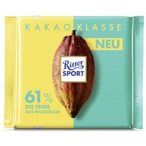 Ritter Sport Nicaragua Die Feine 61% Kakao 100 g