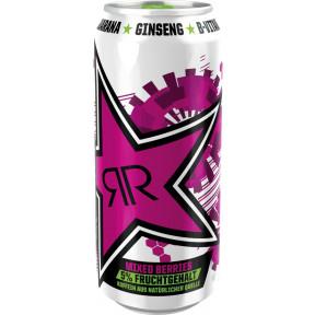 Rockstar Energydrink First Start Mixed Berries 0,5L