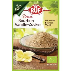 Ruf Bio Bourbon-Vanille-Zucker 3x 8 g