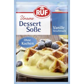 Ruf Dessert Soße Vanille Geschmack ohne Kochen 3x 24 g