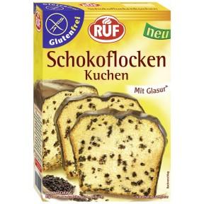 Ruf Unser Schokoflockenkuchen mit Glasur und Schokoflocken glutenfrei