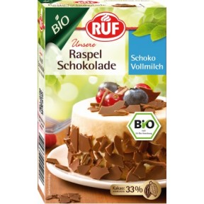 Ruf Bio Raspelschokolade Vollmilch