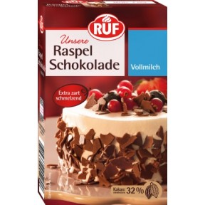 Ruf Raspel Schokolade Vollmilch