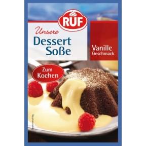 Ruf Dessert Soße Vanille Geschmack zum Kochen