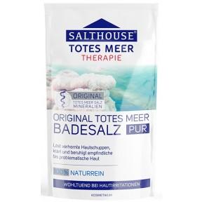 Salthouse Original Totes Meer Badesalz Pur 0,5 kg
