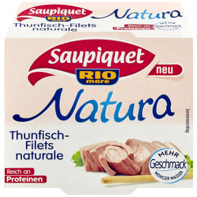 Saupiquet Thunfisch-Filets Naturale 112 g