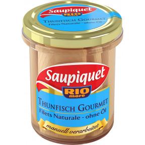 Saupiquet Thunfisch Gourmet Filets Naturale ohne Öl 180G