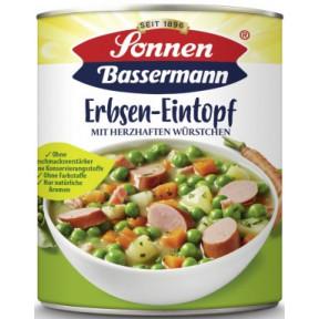 Sonnen Bassermann Erbsentopf mit herzhaften Würstchen
