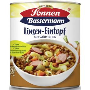 Sonnen Bassermann Linseneintopf mit Würstchen