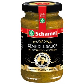Schamel Gravadine Senf-Dill-Sauce