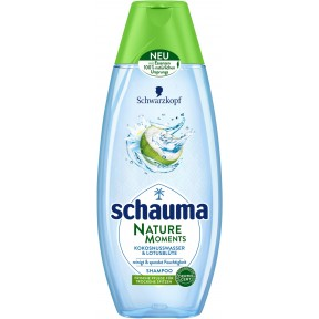 Schauma Nature Moments Kokosnusswasser & Lotusblüte Shampoo