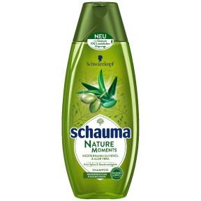 Schauma Nature Moments Mediterranes Olivenöl & Aloe Vera Shampoo
