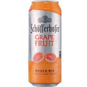 Schöfferhofer Hefeweizen-Mix Grapefruit Dose 0,5 ltr