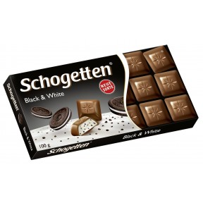 Schogetten Black & White 100 g