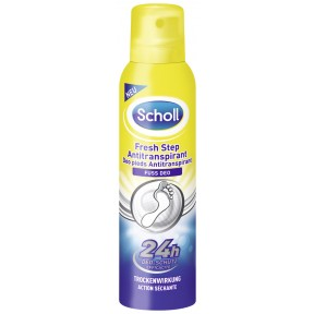 Scholl Fresh Step Antitranspirant Fuß Deo