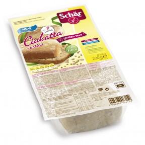 Schär 4 Ciabatta Aufbackbrötchen Rustico glutenfrei 4x 50 g